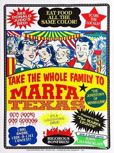 John Waters, 'Visit Marfa ', 2003