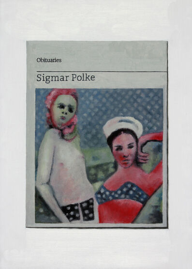 Hugh Mendes, 'Obituary: Sigmar Polke', 2015