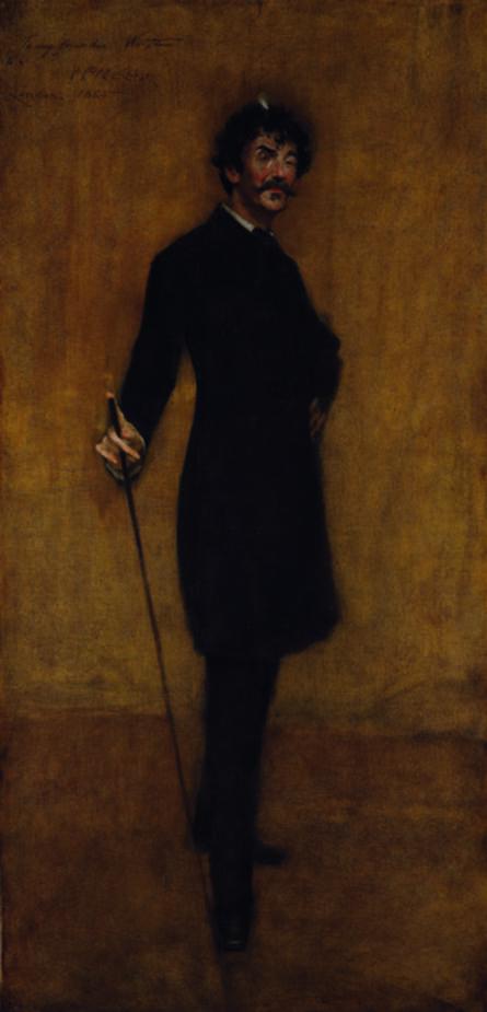 William Merritt Chase, 'James Abbott McNeill Whistler', 1885