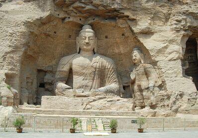 'Seated Buddha, Cave 20', ca. 460