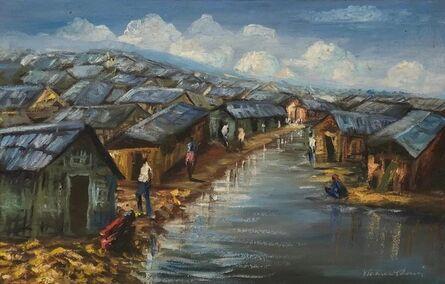 Wesner Pierre-Louis, 'Ghettos', ca. 2000