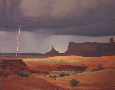 """Glenn Dean, '""""Passing Storm""""', 2015"""