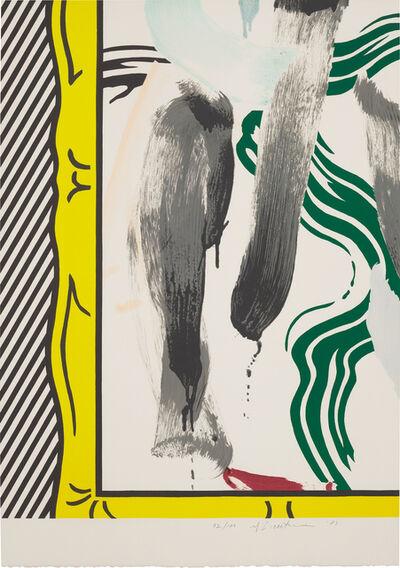 Roy Lichtenstein, 'Painting in a Gold Frame', 1983