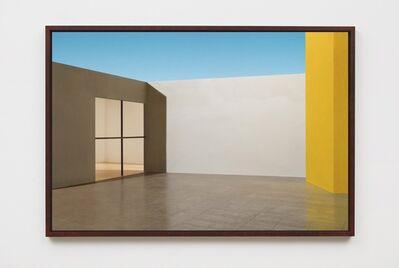 James Casebere, 'El Eco Courtyard', 2017