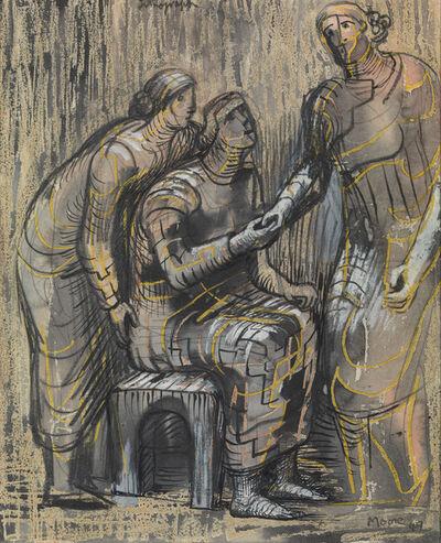 Henry Moore, 'Three Female Figures', 1949