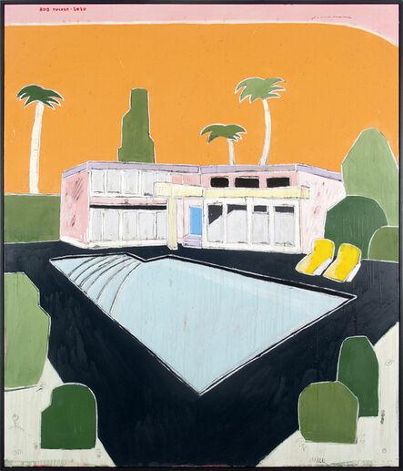 Rob Tucker, 'A Twilight Poolside', 2020