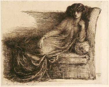 Dante Gabriel Rossetti, 'Jane Morris', 1870