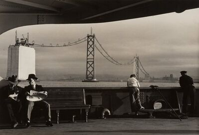 Peter Stackpole, 'Construction of the San Francisco-Oakland Bay Bridge (5 Works)', 1935-1936