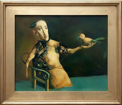 Georges Mazilu, 'L'Homme à l'Oiseau', 2012