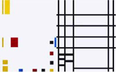 José Manuel Ballester, 'Variaciones a partir de Mondrian 2', 2013