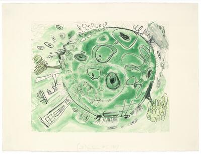 Carroll Dunham, 'Monotype (Green 2)', 1997