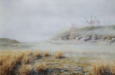 Gillie Cawthorne, 'Dustanburgh Castle', 2008