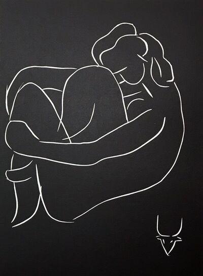 Henri Matisse, '...seule, au pied du grand caroubier...', 1944