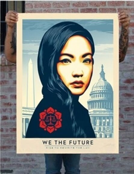 Shepard Fairey, 'Rewrite The Law (Large Format)', 2018