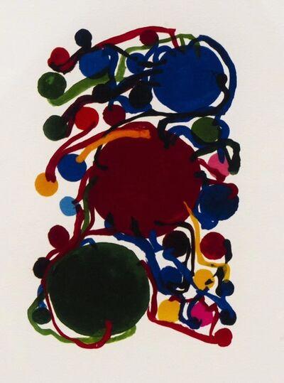 Atsuko Tanaka, 'Blue green circle (青赤绿の丸)', N/A