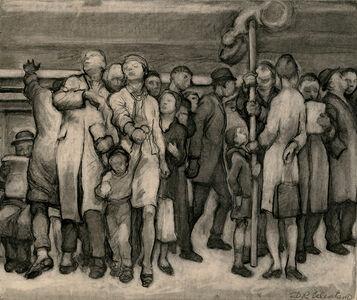 Daniel Ralph Celentano, 'Untitled (Subway)', ca. 1935