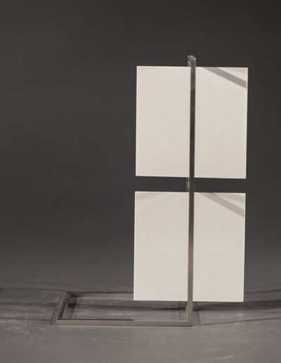 Roger Phillips, 'Two White Squares (maquette)', 2017