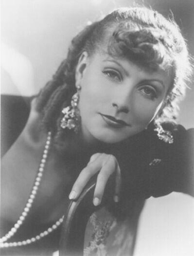 George Hurrell, 'Greta Garbo, Romance', 1930