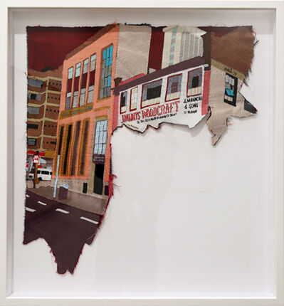 Billie Zangewa, 'Late Afternoon Shimmer', 2013