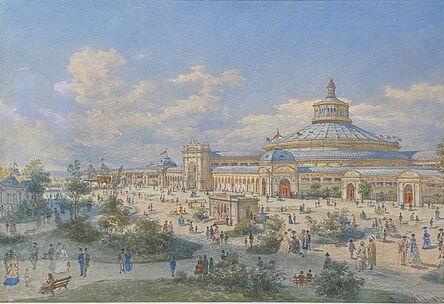 Franz Alt, 'The Rotunda in Vienna', 1873