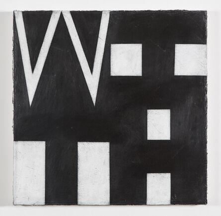 Allan Graham, 'WITH', 2013