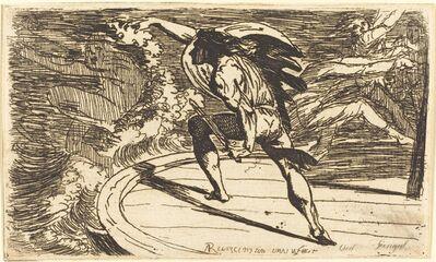 Alexander Runciman, 'Cormar Attacking the Spirit of the Waters'