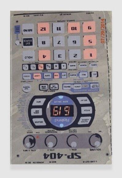 Brendan Fowler, 'Roland SP-404 Playing Bank D, Pads 1, 4, 5, 9, 12', 2014