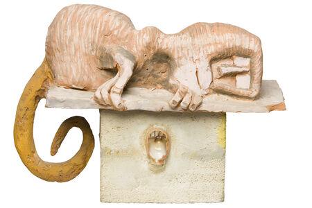 Kurt Hüpfner, 'Gravestone (monkey)', ca. 1993