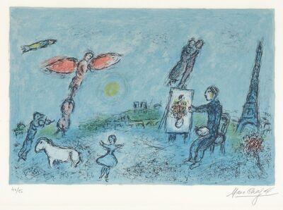Marc Chagall, 'Le Peintre et son Double - The Painter and his Double', 1981
