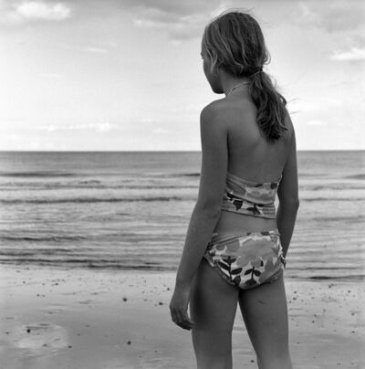 Sheila Rock, 'Bathing Beauty, Walton-On-The-Naze', ca. 2012