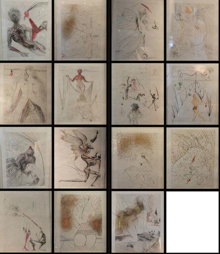 Salvador Dalí, 'La Venus aux Fourrures Complete matched numbered suite', 1968