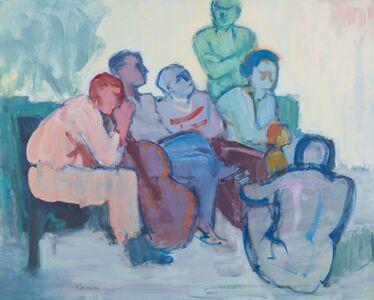 Jacob Kainen, 'Discussion', 1965