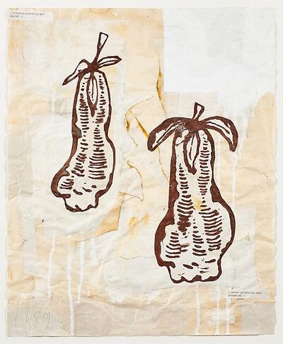Donald Baechler, 'Fruits for Rocket', 1989