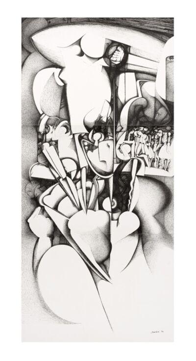 Ibrahim El-Salahi, 'Untitled', 1986