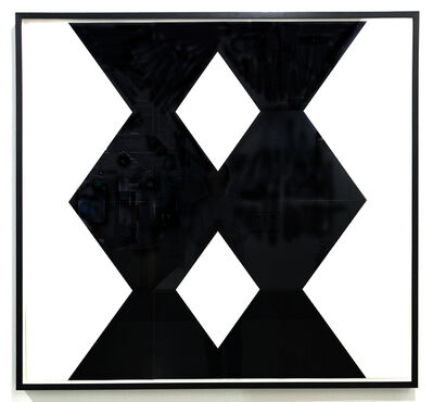 Ignacio Uriarte, 'Two Black Columns', 2017