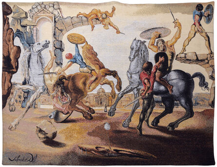 Salvador Dalí, 'Battle Around a Dandelion', 1988