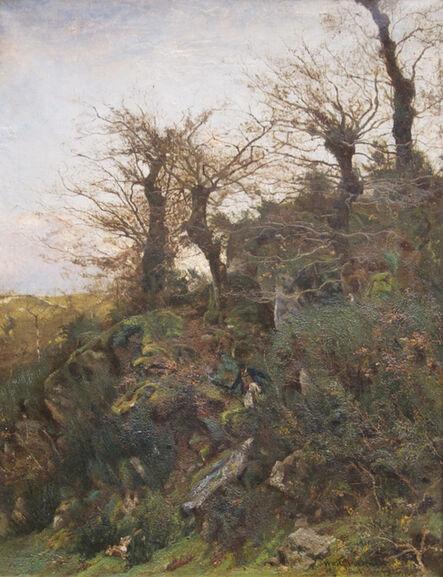 William Lamb Picknell, 'Hunting, Pont-Aven', 1887