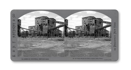 Jeff Brouws, 'Stereograph #155 (Pennsylvania) from American Industrial Heritage Series', 2015