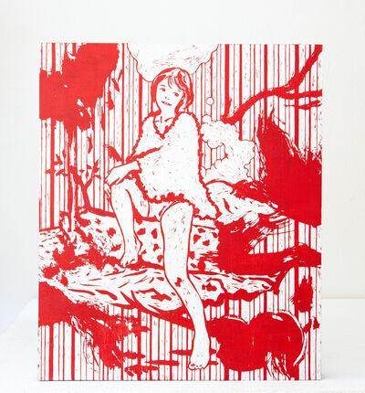 Kenichi Yokono, 'sitting on a tree', 2019