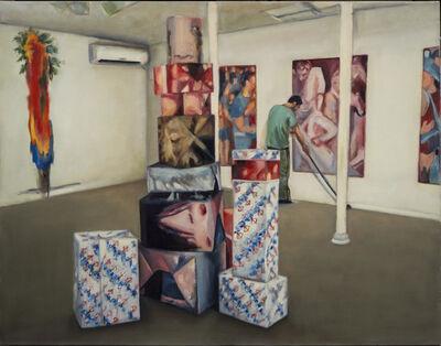 Zamir Shatz, 'At the Gallery', 2017