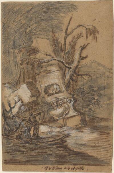 Johann George Böhm, 'Capriccio with Antique Ruins', 1730s