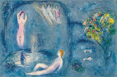 Marc Chagall, 'La Caverne des Nymphes (from Daphnis et Chloé)', 1961