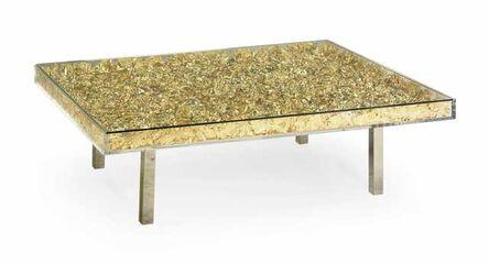 Yves Klein, 'Monogold table', 2019