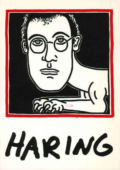 Keith Haring, 'Keith Haring set of 30 announcements 1980s/1990s', 1987-1996