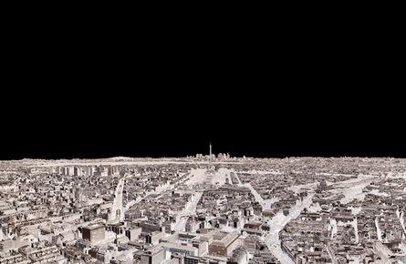 André Lichtenberg, 'Paris, Eiffel Tower, La Defense 2014 (Within Series)', 2014