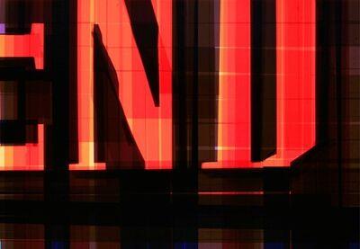 Mark Khaisman, 'TAPE NOIR 64-THE END', 2012