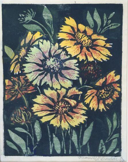 Frances Hammell Gearhart, 'GAILLARDIAS', ca. 1928