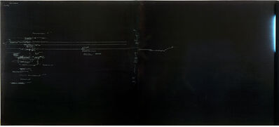 Carlo Alfano, 'Frammenti di un autoritratto anonimo n. 1', ca. 1970