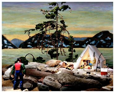 Diana Thorneycroft, 'Group of Seven Awkward Moments (Jack Pine)', 2007