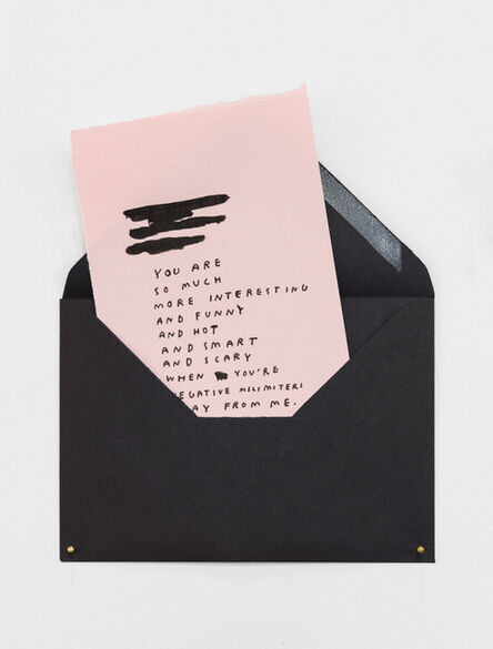 Wasted Rita, 'Love Letters #1', 2015